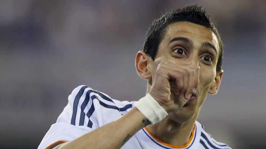 Di María foi o autor do primeiro gol do Real Madrid