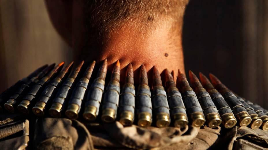 Fuzileiro na base de Talibjan, Afeganistão