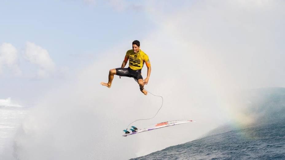 Gabriel Medina vence o Billabong Pro do Taiti e lidera o circuito mundial de surfe