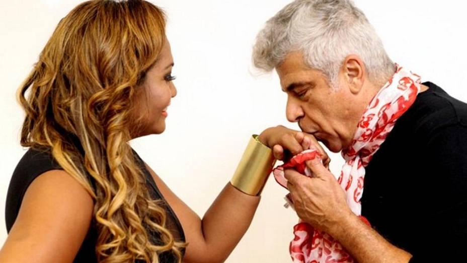 Gaby Amarantos é a técnica auxiliar de Lulu Santos no The Voice Brasil