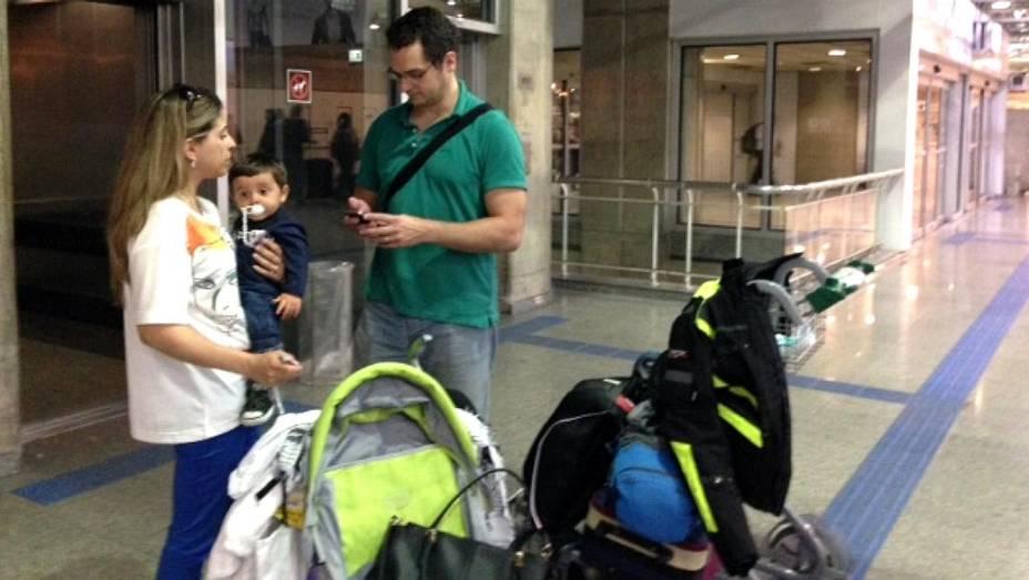 Galeão: família Vargas critica improvisos no aeroporto