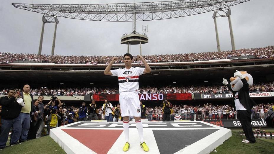 Ganso é apresentado pelo São Paulo neste domingo
