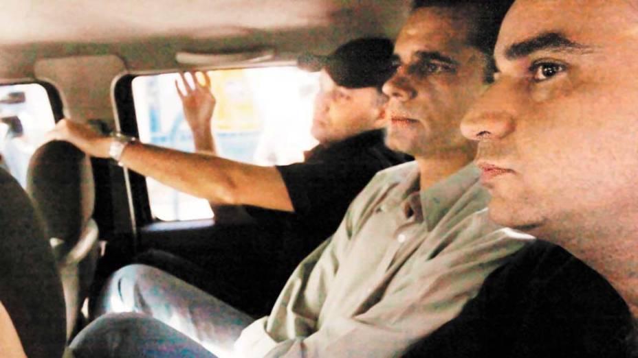 Ex-chefe da Polícia Civil, Álvaro Lins, é preso pela Polícia Federal, em 29/05/2008