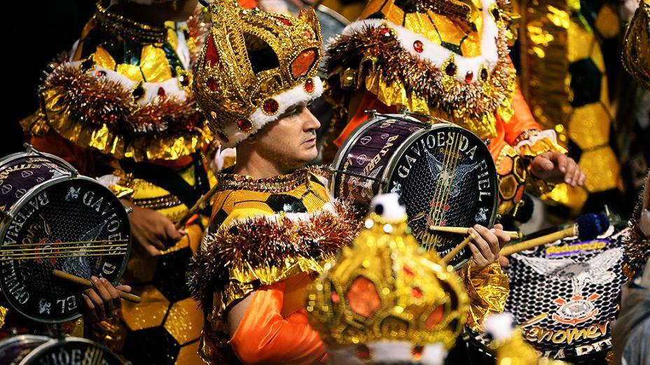 Desfile da Gaviões, em São Paulo