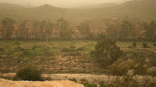 Gaza avistada da cidade israelenses de Sderot