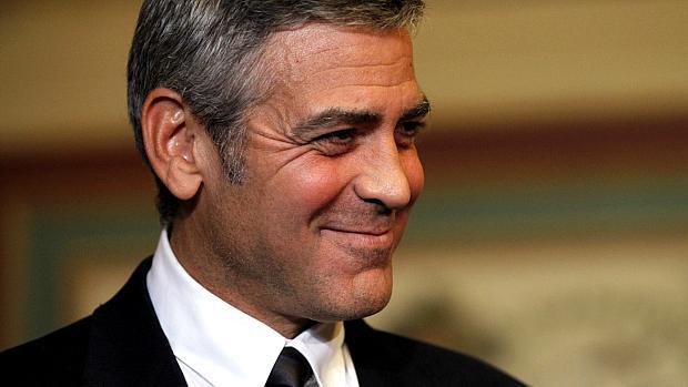 George Clooney conquistou o 3º lugar por sua luta pelos direitos humanos no Sudão