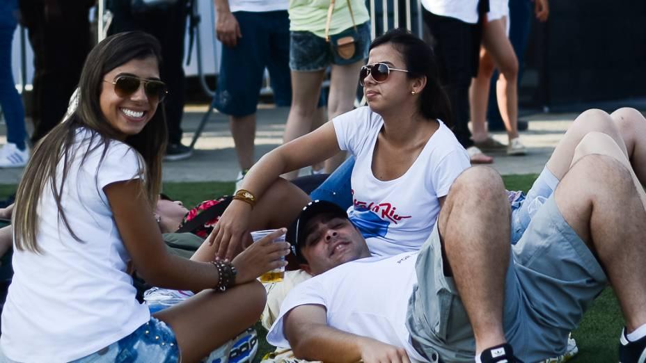 Público do quinto dia de Rock in Rio 2013