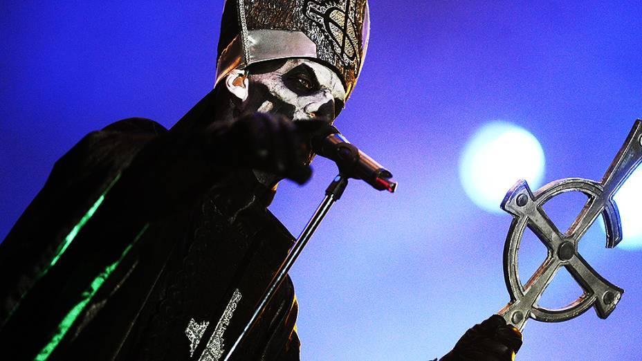 Apresentação do Ghost B.C. no quarto dia do Rock in Rio 2013