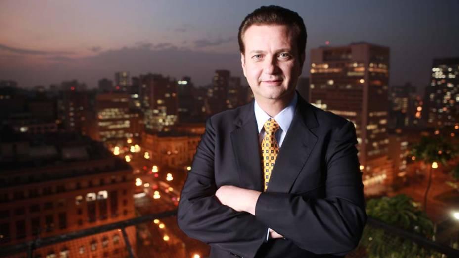 O prefeito de São Paulo, Gilberto Kassab