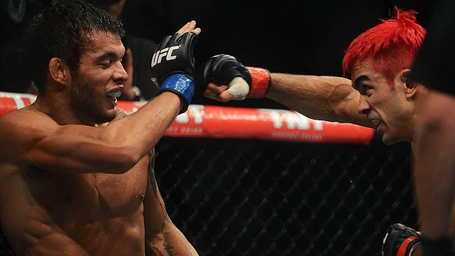 A luta entre Godofredo Pepey e Miltinho Vieira, pelo UFC São Paulo