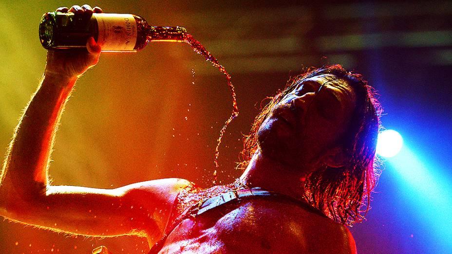 Show de Gogol Bordello no Rock in Rio 2013