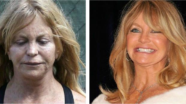 Goldie Hawn sai de casa sem maquiagem e fica quase irreconhecível | VEJA
