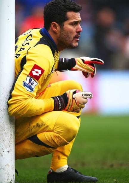 O goleiro Júlio César, do Queens Park Rangers