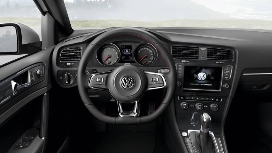 Interior do Novo Golf GTI