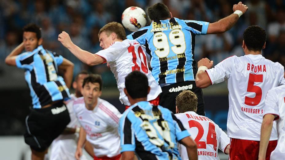 Grêmio e Hamburgo se enfrentam na abertura da Arena Grêmio, em Porto Alegre