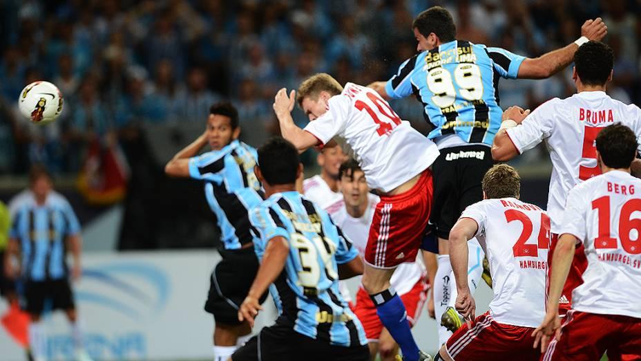 Grêmio e Hamburgo se enfrentam na abertura da Arena Grêmio