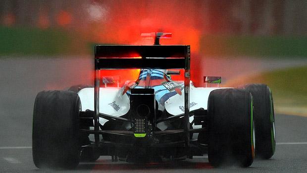 Felipe Massa, da Williams, no treino classificatório do GP da Austrália de F1