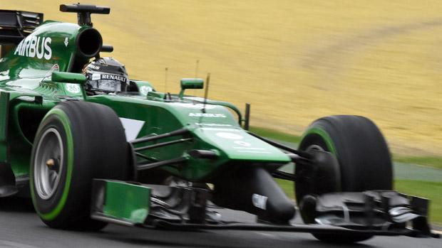 O japonês Kamui Kobayashi no GP da Austrália de F1