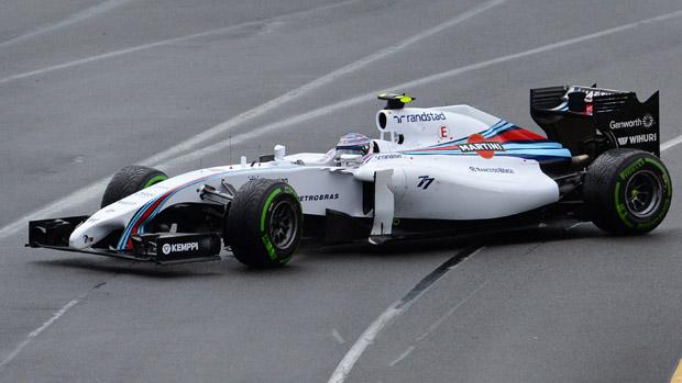 Valterri Bottas, da Williams, durante treino no GP da Austrália