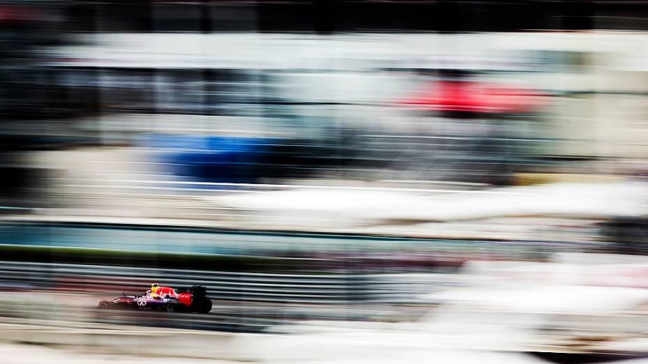 Daniel Ricciardo durante o GP de Mônaco de Fórmula 1