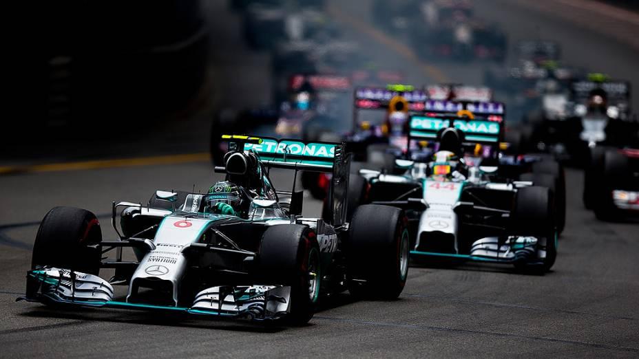 Nico Rosberg vence o GP de Mônaco de Fórmula 1