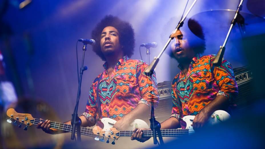 Show de Gracce Potter e Donavon Frankenreiter, no quinto dia de Rock in Rio 2013