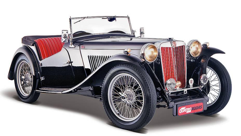 MG TC: os modelos fabricados entre 1946 e 1949 são os preferidos. Foram fabricados apenas 10.000 unidades, com motor 1.3 litros. Pode-se comprar um bom estado nos EUA por pouco mais de 37.000 dólares.