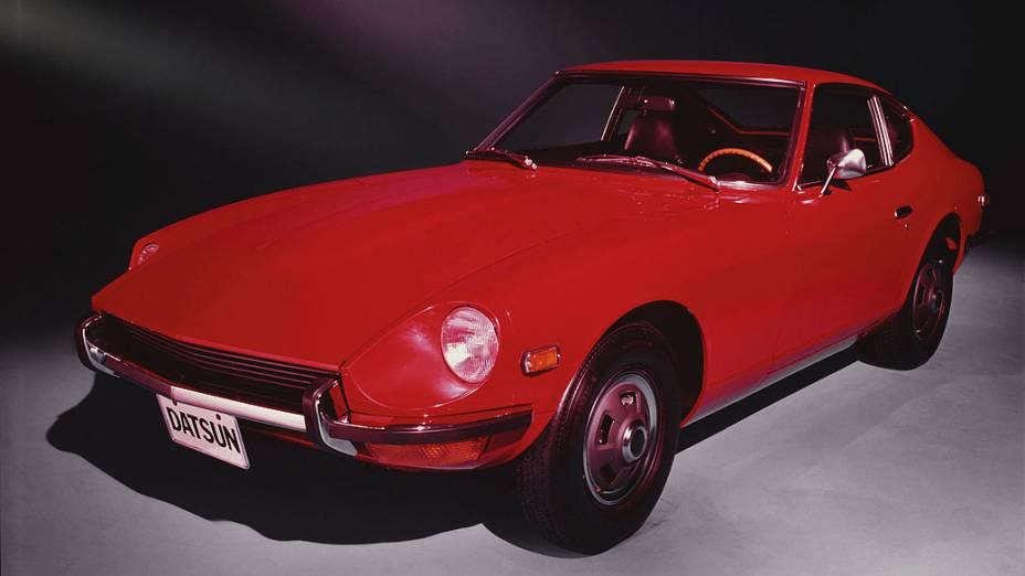 Datsun/Nissan Z: o modelo 240Z entrou no mercado americano entre 1970 e 1973. Equipado com motor 2.4 litros, 151 cavalos de potência e câmbio manual de quatro velocidades. Pode ser comprado por 25.000 dólares.