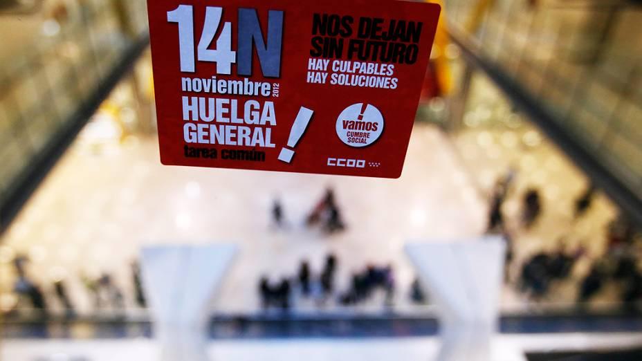Trabalhadores espanhóis e portugueses realizaram a primeira greve geral coordenada