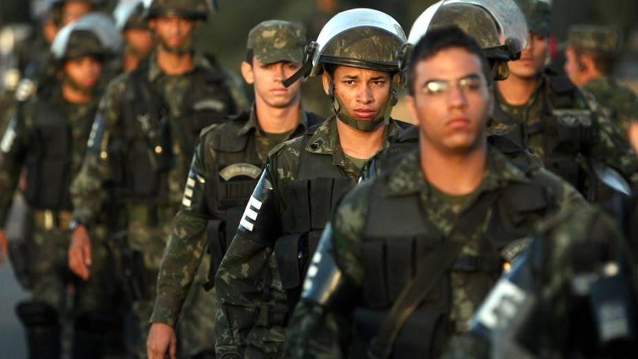 O ex-policial Marco Prisco, líder da greve da PM baiana, foi preso na manhã desta quinta-feira após deixar a Assembleia Legislativa do Estado