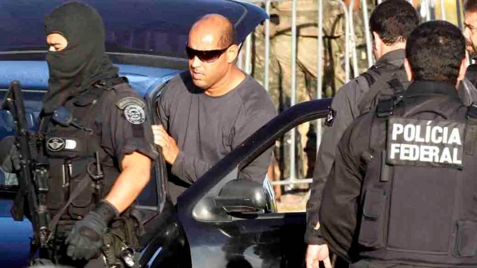 O ex-policial Marco Prisco, líder da greve da PM baiana, foi preso na manhã desta quinta-feira