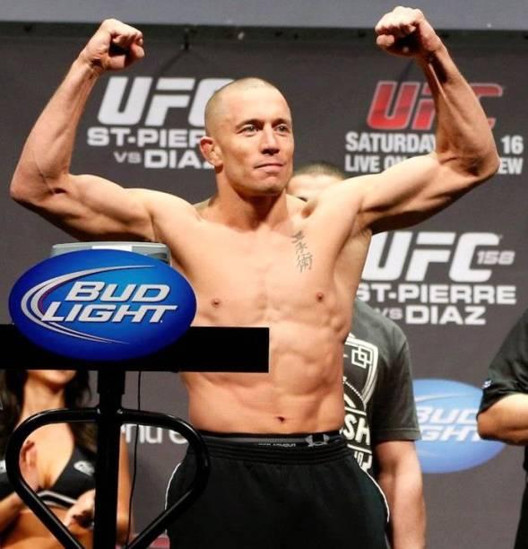 A pesagem do UFC 158: Georges St-Pierre x Nick Diaz, em Montreal