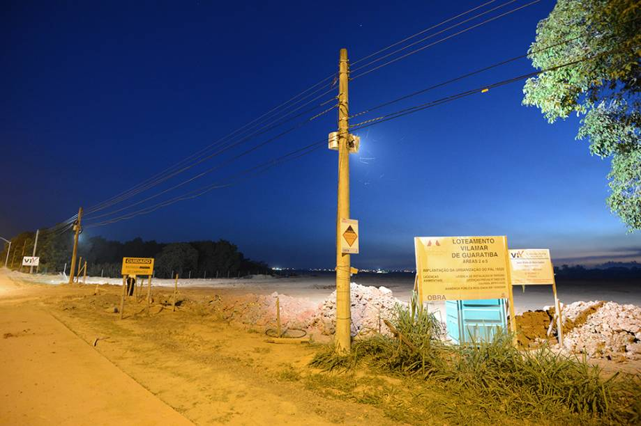O terreno em Guaratiba, na Zona Oeste do Rio, que servirá ao Campus Fidei, último evento da Jornada Mundial da Juiventude - JMJ 2013