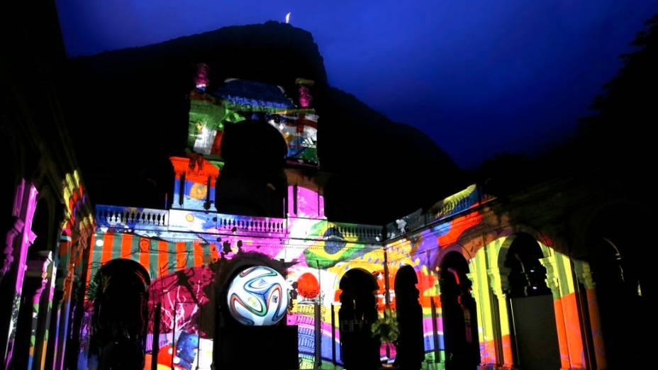 Evento de lançamento da Brazuca, da Adidas, no Parque Lage, no Rio
