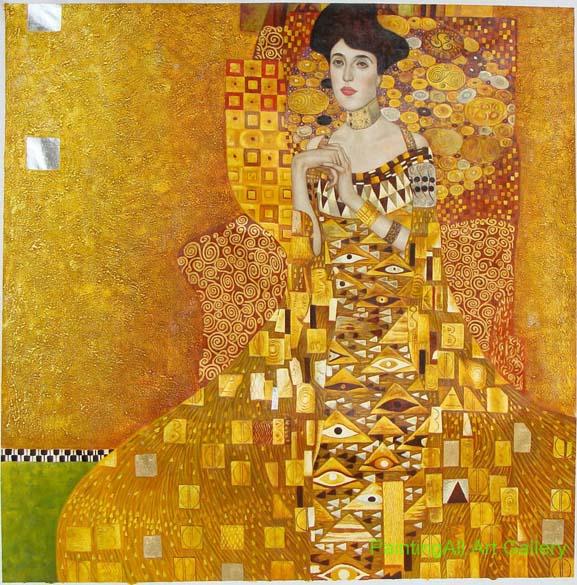 Gustav Klimt – <em>Adele Bloch-Bauer I</em>, 1907  230 milhões de reais - Comprador desconhecido. Adele Bloch-Bauer era esposa de Ferdinand Bloch-Bauer, um rico industrial austríaco. O casal era amigo próximo do pintor simbolista Gustav Klimt. O bilionário dos cosméticos Ronald Lauder vendeu em 19 de junho de 2006 diretamente para um comprador não identificado.