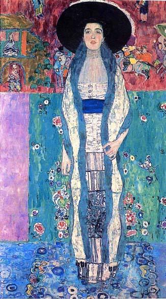 Gustav Klimt – <em>Adele Bloch-Bauer II</em> – 1912 – 149 milhões de reais - Comprador desconhecido. Assim como <em>Adele Bloch-Bauer I</em>, a terceira desta galeria, esta obra de Gustav Klimt da família Bloch-Bauer foi confiscada pelos nazistas em 1938 e só retornou à herdeira no começo de 2006. A casa de leilões Christies, de Nova York, vendeu esta e outras três obras por 326 milhões de reais.