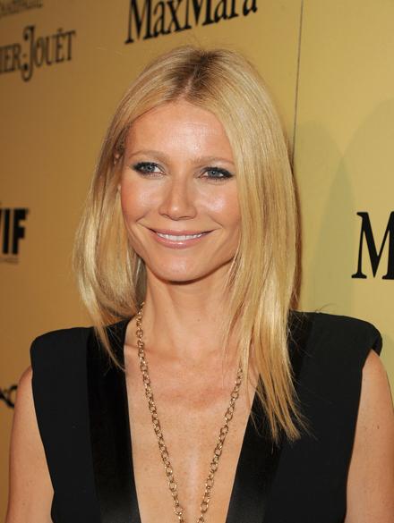 Gwyneth Paltrow na pré-festa do Oscar, em Los Angeles