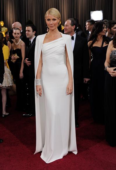 Gwyneth Paltrow no Oscar 2012, em Hollywood
