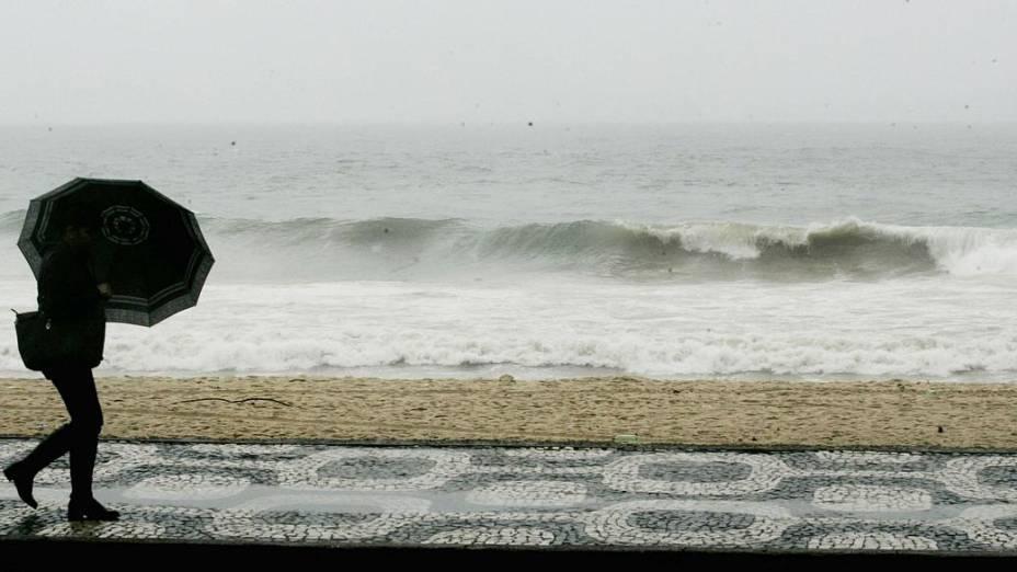 Há possibilidade de ressaca em todo o litoral do Rio