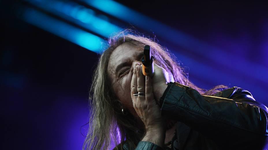 Show da banda Halloween e Kai Hansen, no último dia de Rock in Rio 2013