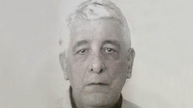 Reprodução da foto do ex-diretor de marketing do Banco do Brasil, Henrique Pizzolato, feita pela polícia italiana após sua prisão em Modena, na Itália