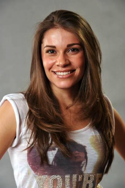 Patrícia é empresária, tem 25 anos e tem uma especialidade entre os dotes dos concorrentes: pratica pole dance