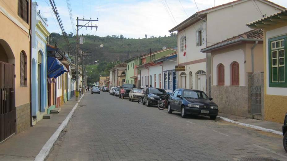 Hoje é possível caminhar livremente pelas ruas do centro histórico de São Luiz do Paraitinga