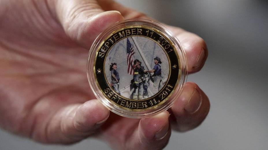 Medalha em memória as vítimas do 11 de Setembro