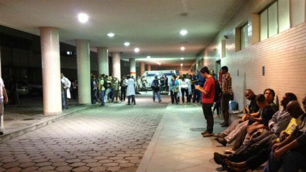 Hospital Souza Aguiar recebe 62 pessoas feridas durante a manifestação no centro do Rio