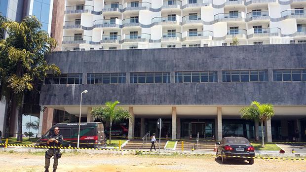 Operação policial em hotel de Brasília