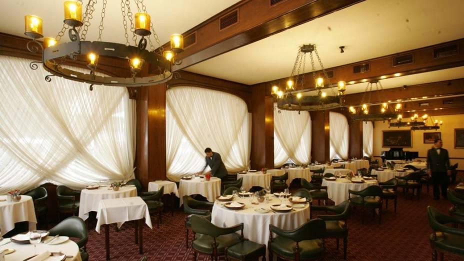 Restaurante do Hotel Ca'D'Oro, centro de São Paulo
