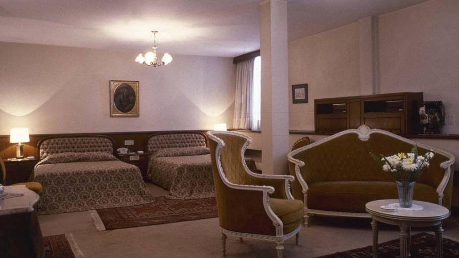 Suíte presidencial do Hotel Ca'D'Oro, centro de São Paulo