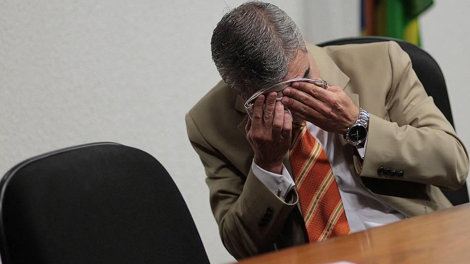 Senador Humberto Costa (PT-PE), relator do processo disciplinar de quebra de decoro parlamentar contra o senador Demóstenes Torres