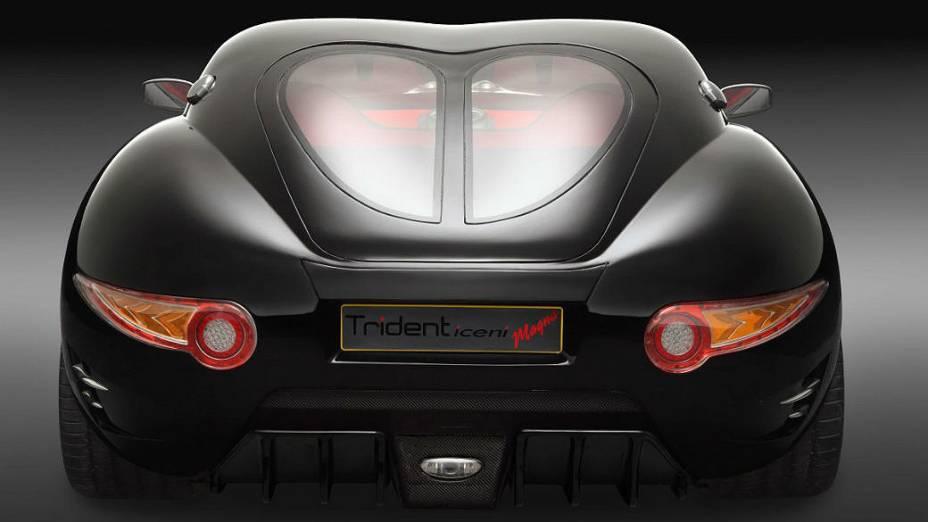 O esportivo Trident Iceni tem autonomia de 3.200 quilômetros com um único tanque de diesel